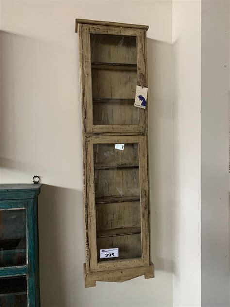 Diy Display Cabinet Using Old Wood Door