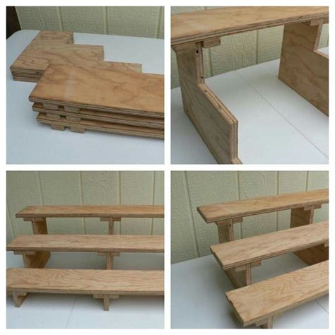 Diy Display Shelves Craft Fair