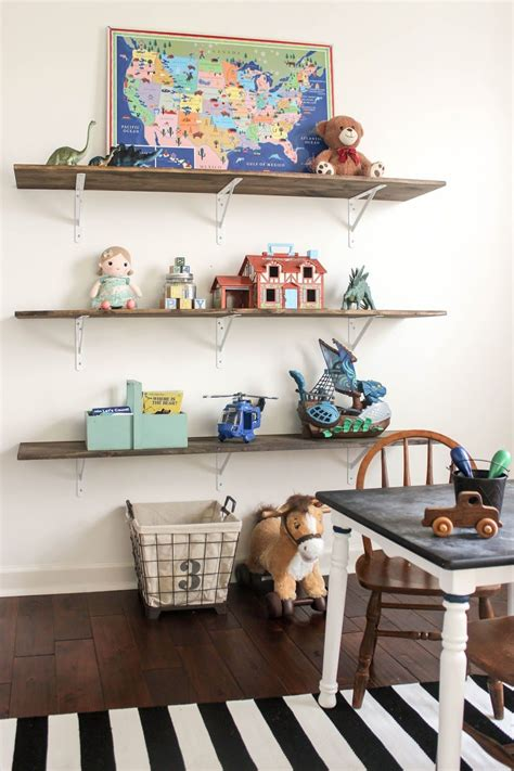 Diy Display Shelves For Kids Plaroom