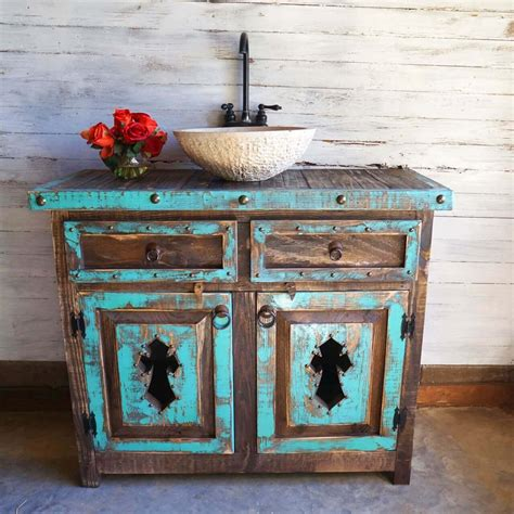 Diy Distressed Wood Bathroom Vanity