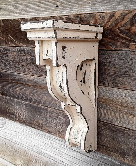 Diy Distressed Wood Corbels