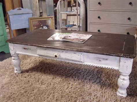 Diy Distressed Wood End Table