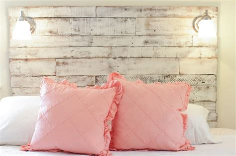 Diy Distressed Wood Headboard