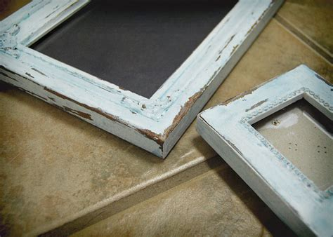 Diy Distressed Wood Picture Frame