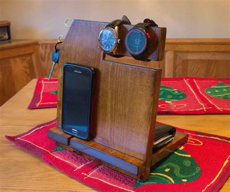 Diy Docking Station Wood