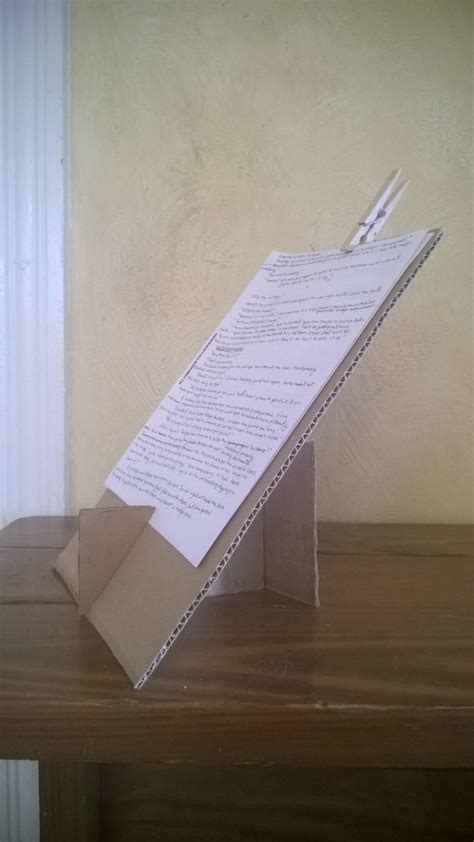 Diy Document Stand For Typing