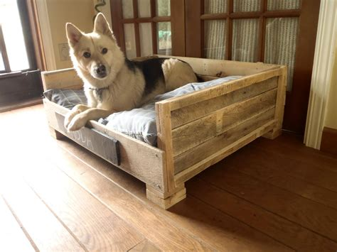 Diy Dog Bed From A Pallet