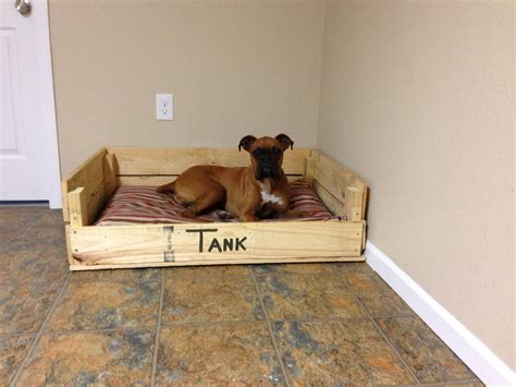 Diy Dog Bed Made Out Of Pallets