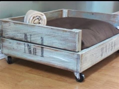 Diy Dog Bed On Wheels