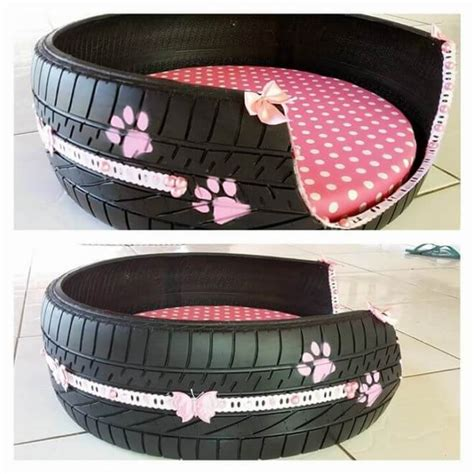 Diy Dog Bed Out Of Tire