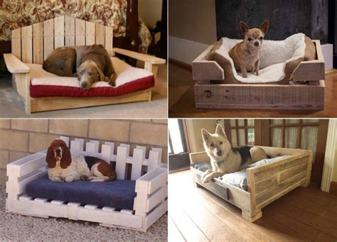 Diy Dog Bed Out Of Wood