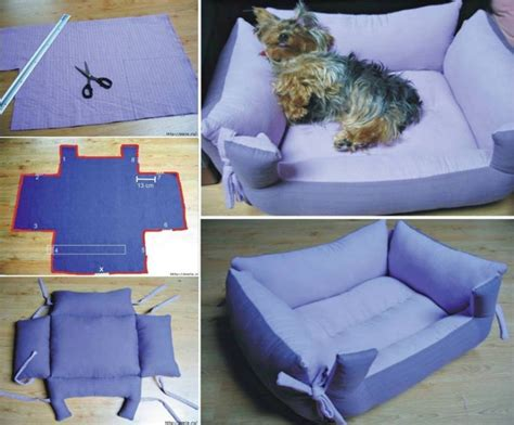 Diy Dog Bed With Pillows