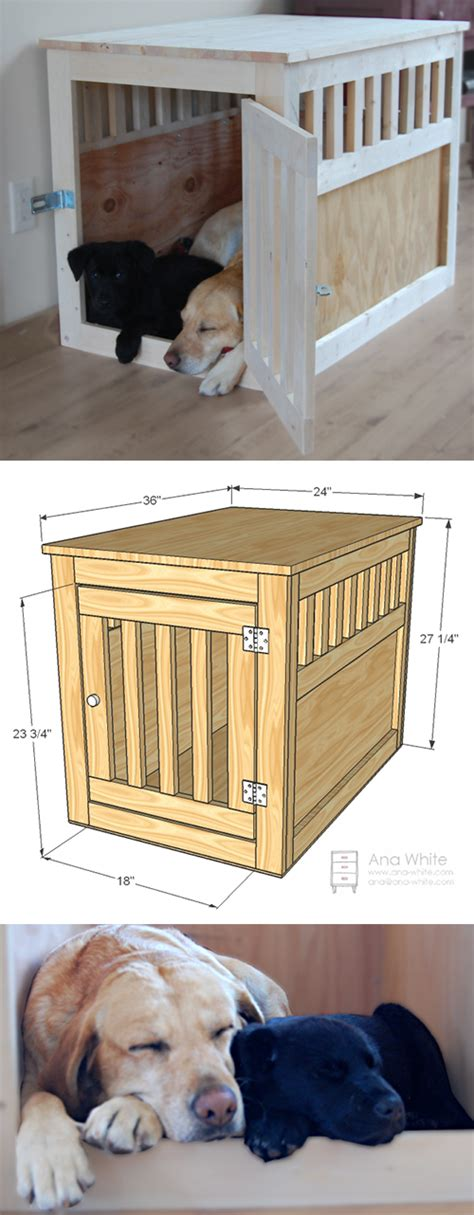 Diy Dog Bed Wooden Crate