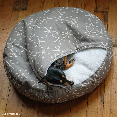 Diy Dog Burrow Bed
