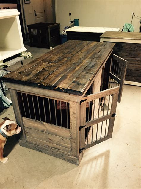 Diy Dog Crate Coffee Table