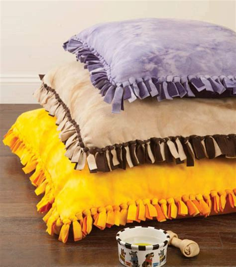 Diy Dog Cushion Bed