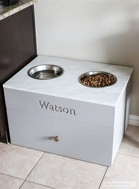 Diy Dog Food Storage And Feeder Pig