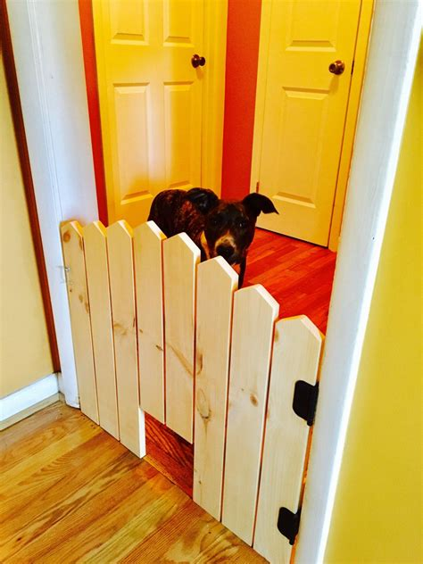 Diy Dog Gate For Doorway