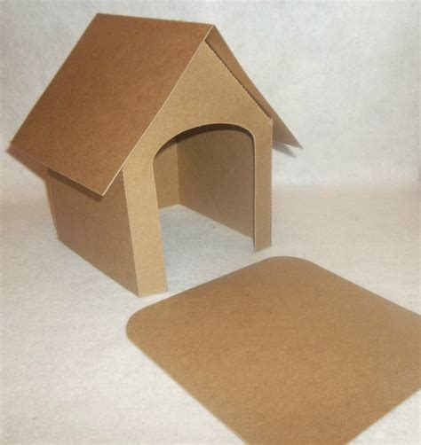 Diy Dog House Out Of Cardboard