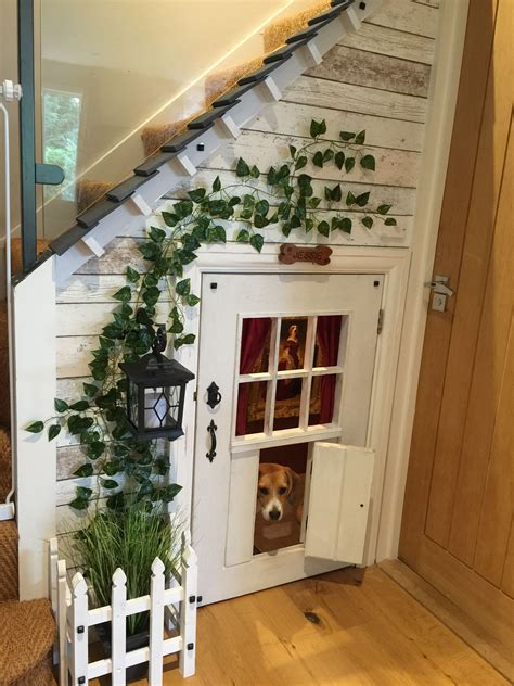 Diy Dog House Under Stairs
