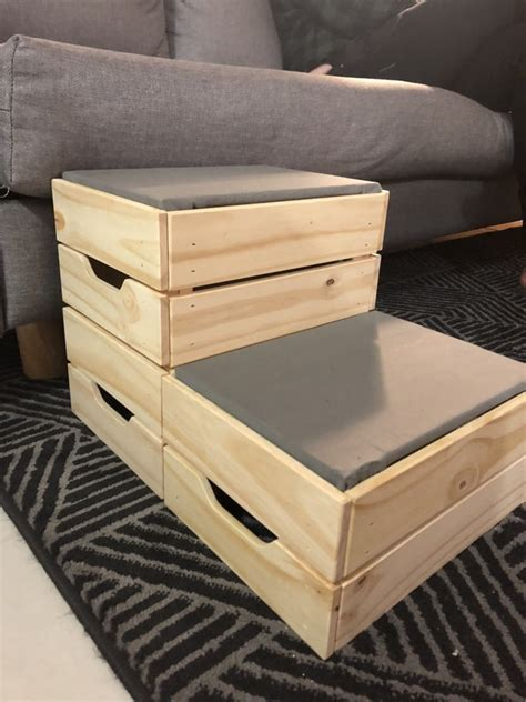Diy Dog Steps From Post Office Boxes