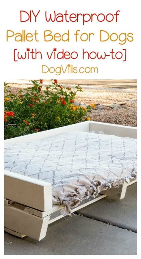 Diy Dog Water Bed