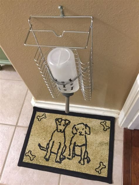 Diy Dog Water Bottle Stand