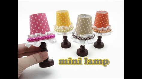 Diy Doll Accessories Mini Lamp Easy