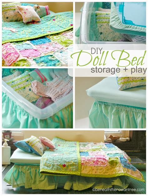 Diy Doll Bed From Plastic Tote