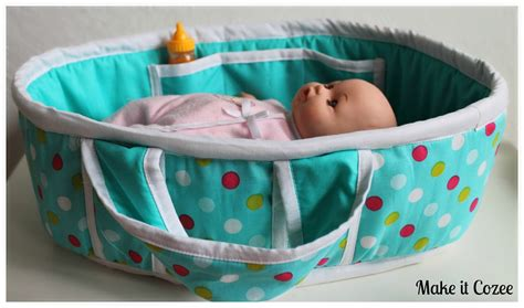 Diy Doll Carry Bed Pattern