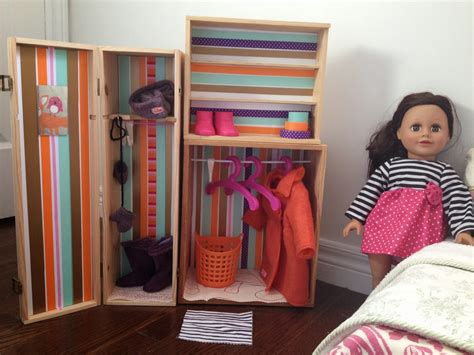 Diy Doll Closet From Pretty Box