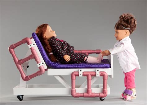 Diy Doll Hospital Bed