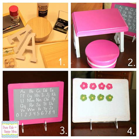 Diy Doll School Desk