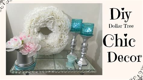 Diy Dollar Tree Home Decor Youtube