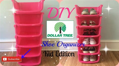 Diy Dollar Tree Shoe Rack