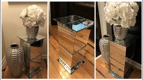 Diy Dollar Tree Table With Mirrors