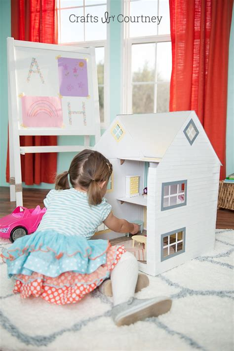 Diy Dollhouse Out Of Box
