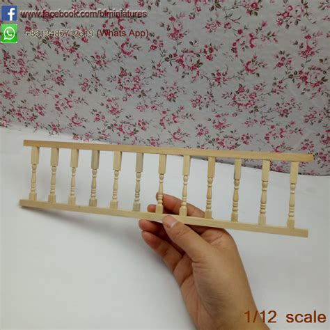 Diy Dollhouse Staircase Rail