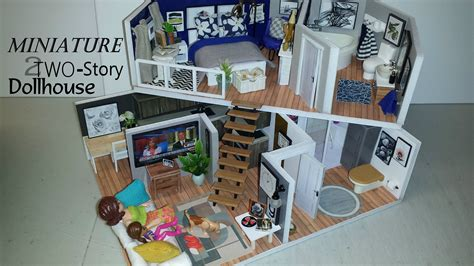 Diy Dollhouse Turret 2 Story