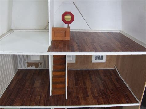 Diy Dollhouse Wood Flooring