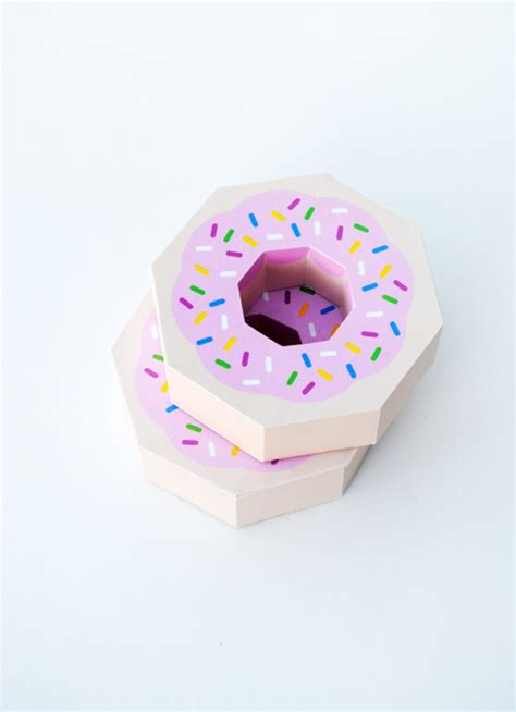 Diy Donut Gift Box