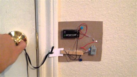 Diy Door Alarm