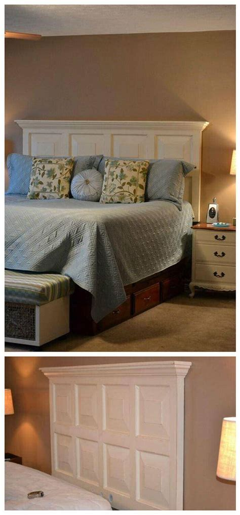 Diy Door Headboard Plans