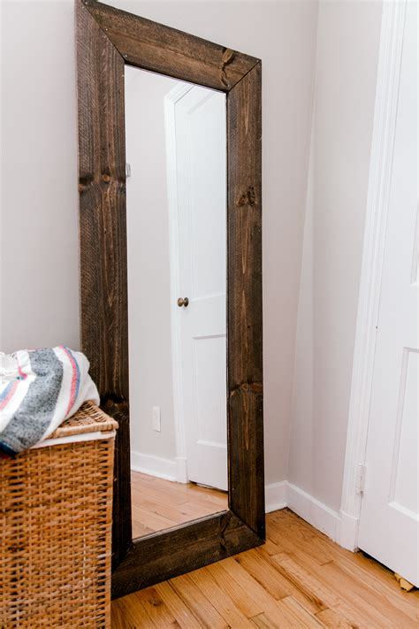 Diy Door Mirror Frame
