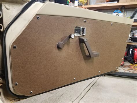 Diy Door Panels On Jeep