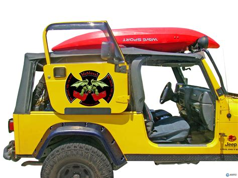 Diy Door Rack For Jeep Jk 2 Door