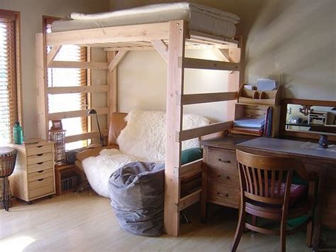 Diy Dorm Loft Bed