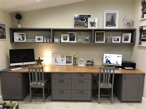 Diy Double Desks For Home Office