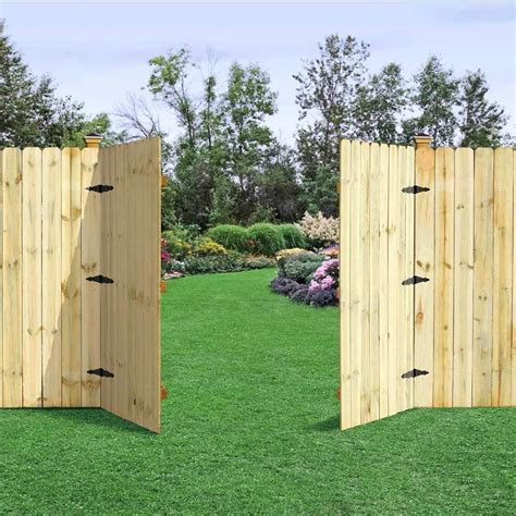 Diy Double Door Garden Gates