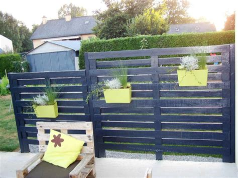 Diy Double High Pallet Fence